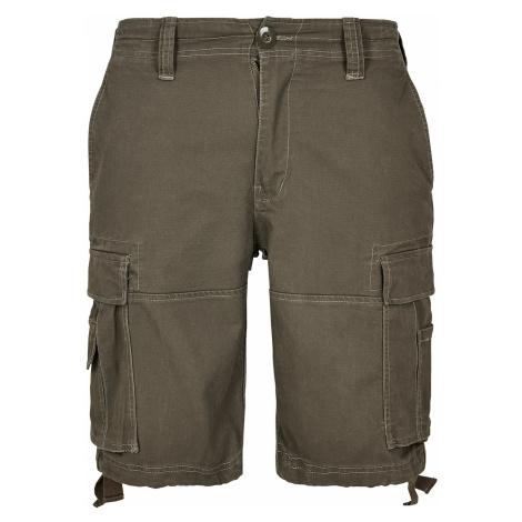 Brandit Shorts VINTAGE CARGO SHORTS BD2002 Olive
