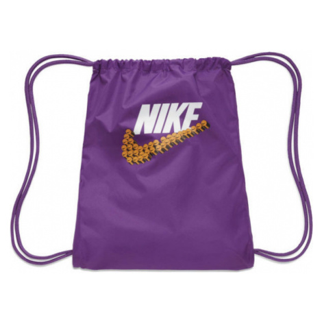 Nike GRAPHIC GYMSACK violett - Turnbeutel