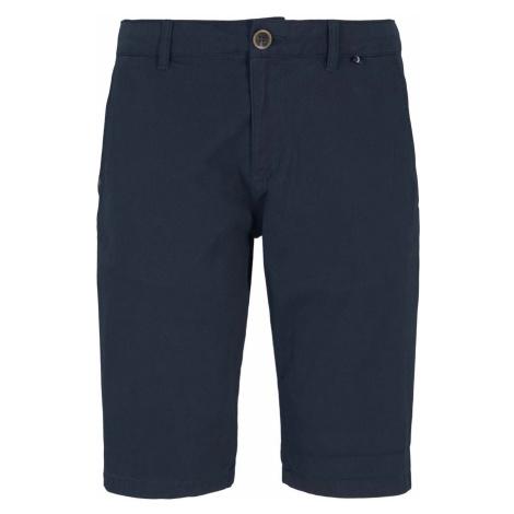 TOM TAILOR Herren Chino Slim Shorts mit Bio-Baumwolle , blau
