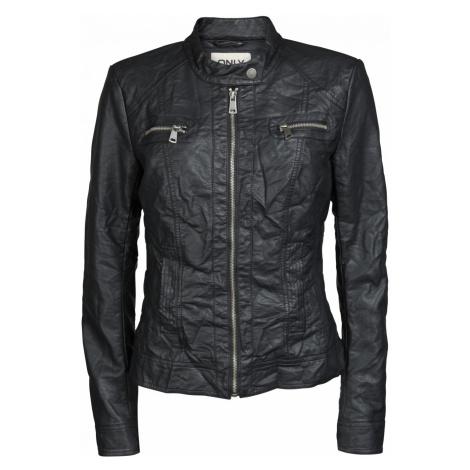 Only Damen Jacke Bandit Biker - Black