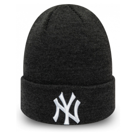 New Era MLB HEATHER ESSENTIAL KNIT NEW YORK YANKEES schwarz - Herren Wintermütze
