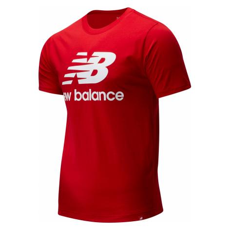 New Balance T-Shirt Herren ESSENTIALS STACKED TEE SHIRT MT01575 Other Red
