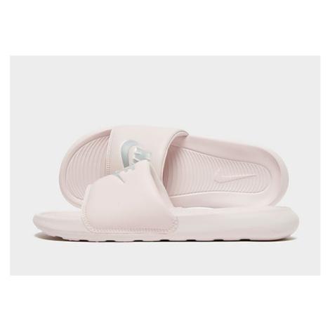 Nike Victori One Damen-Slides - Barely Rose/Barely Rose/Metallic Silver - Damen, Barely Rose/Bar
