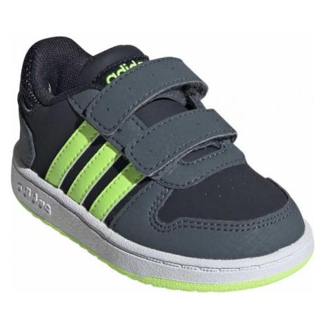 adidas HOOPS 2.0 CMF I grün - Kinder Sneaker