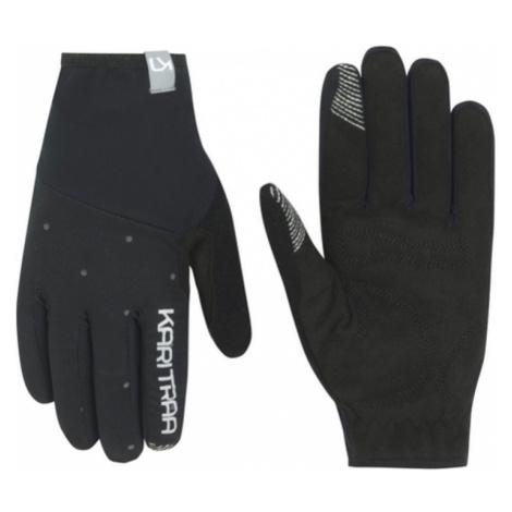Damen Handschuhe Kari Traa Eva Black/Dark Grey