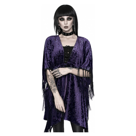 T-Shirt Männer - Fang Velvet Kimono - KILLSTAR - KSRA002722