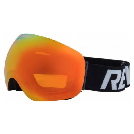 Schwarze skibrillen