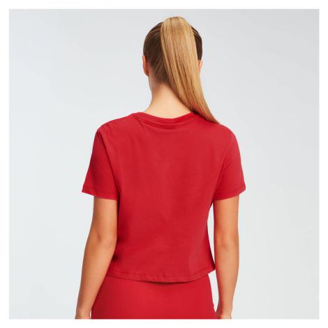MP Damen Essentials Crop T-Shirt - Danger