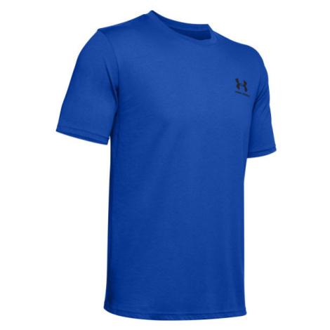 Under Armour SPORTSTYLE LC SS blau - Herren Shirt