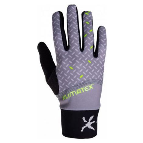 Graue handschuhe für herren