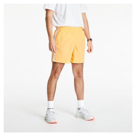 adidas Originals Adicolor Classics 3-Stripes Swim Shorts Hazy Orange