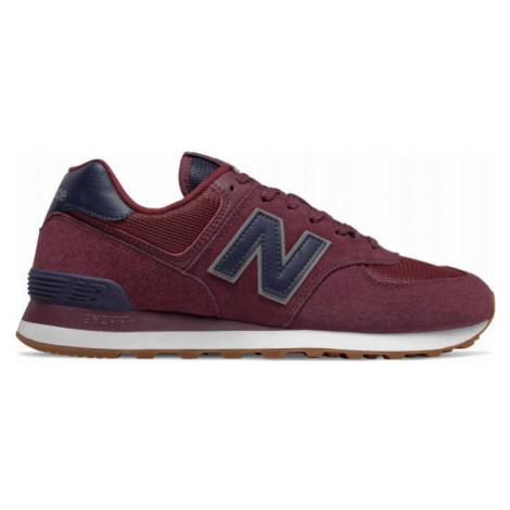 New Balance ML574SPQ weinrot - Herren Sneaker