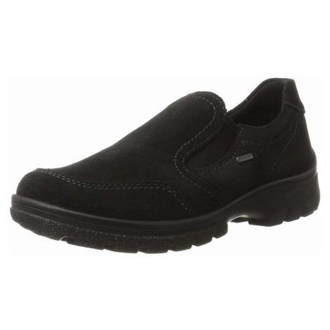 Damen Ara Sportliche Slipper schwarz