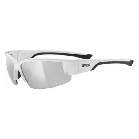 Uvex sportstyle 215 Sportsonnenbrille weiß,white/black