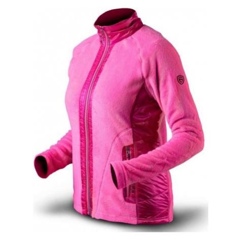 TRIMM FLOWERS rosa - Damen-Sweatshirt