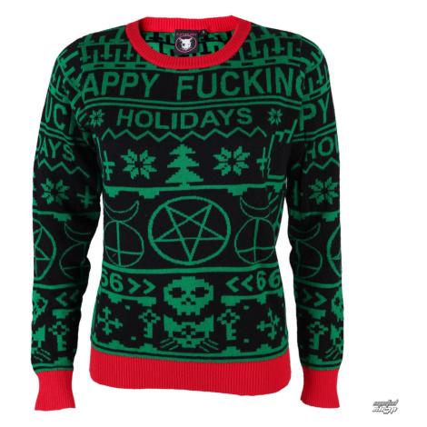 Pullover Frauen - Xmas - TOO FAST - Happy Fucking XL
