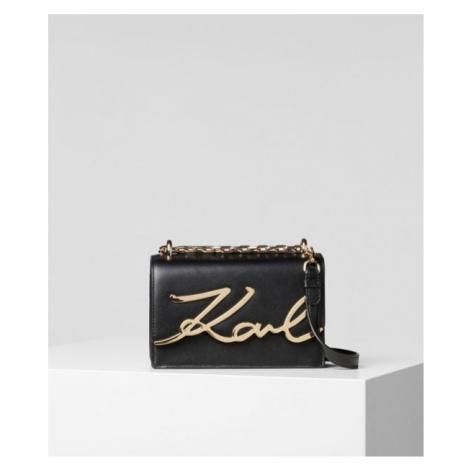 K/Signature Kleine Schultertasche Karl Lagerfeld
