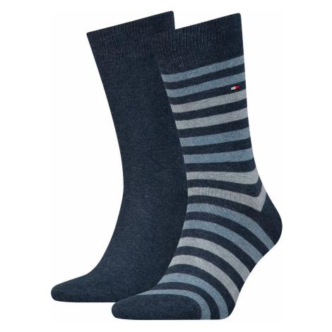 Tommy Hilfiger Herren Socken Duo Stripe 2er Pack
