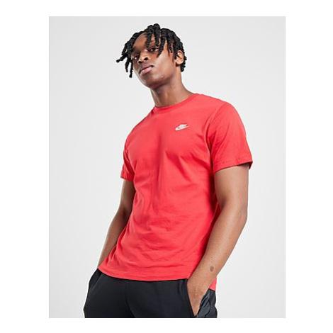 Nike Nike Sportswear Club Herren-T-Shirt - University Red/White/White - Herren, University Red/W