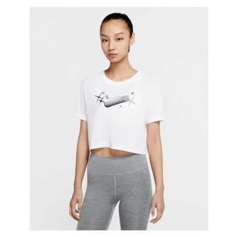 Nike Dri-FIT Goddess Crop top Weiß