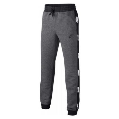 Nike NSW HYBRID PANT B grau - Jungen Trainingshose