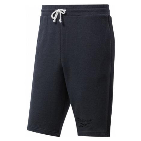 Reebok TE MELANGE SHORT schwarz - Shorts