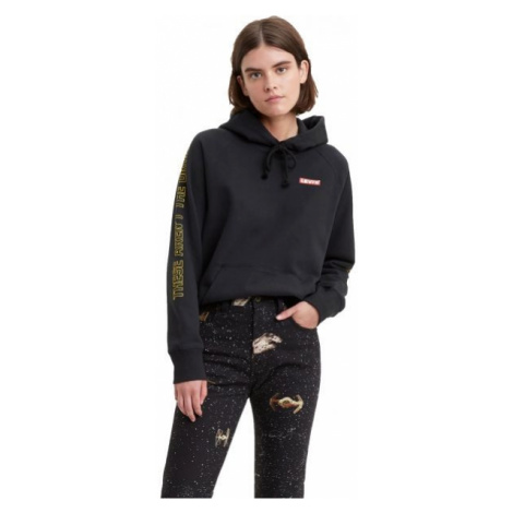 Levi's X STAR WARS GRAPHIC PULLOVER HOODIE schwarz - Damen Sweatshirt Levi´s