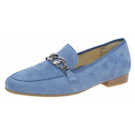 Damen Ara Komfort Slipper blau Kent
