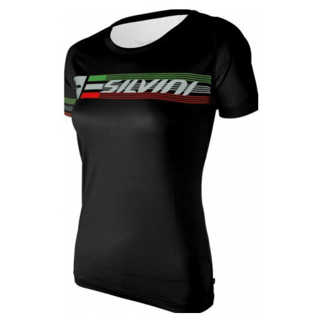 Damen T-Shirt Silvini PROMO WT854 black