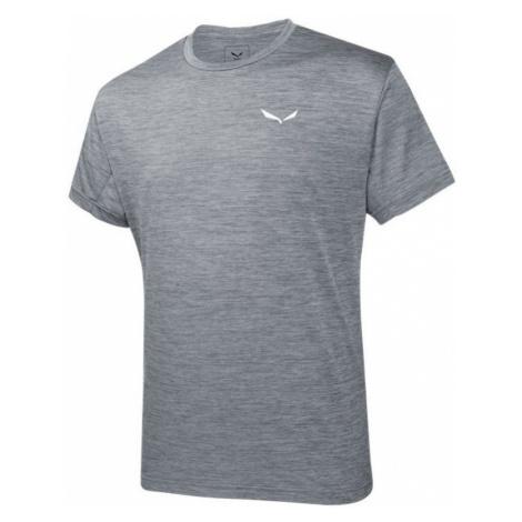T-Shirt Salewa Puez MELANGE DRY M S/S TEE 26537-0538