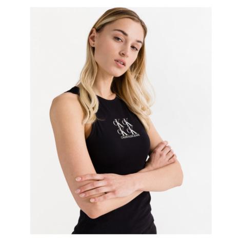 Calvin Klein Shine Logo Racer Unterhemd Schwarz