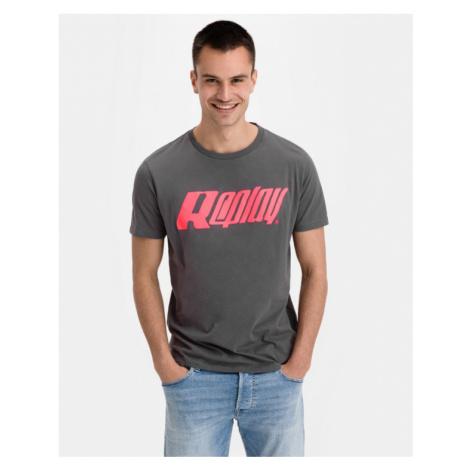 Replay T-Shirt Grau