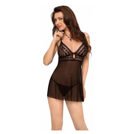Erotische Nachtkleider für Damen Vanessa black