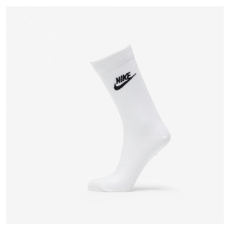 Nike Sportswear Everyday Essential Crew Socks White/ Black