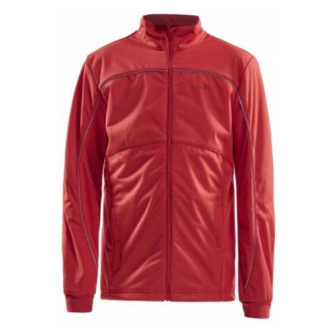 Jacke CRAFT Warm JR 1904634-481000 red