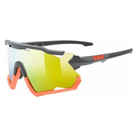 Uvex sportstyle 228 Sportsonnenbrille grau/orange,grey-orange mat