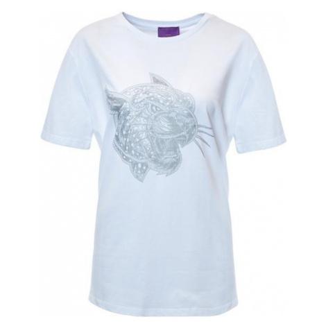 Crazy Leopard Silver-White T-Shirt