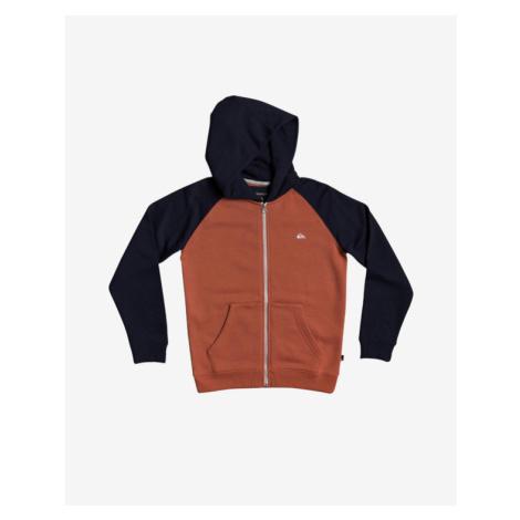 Quiksilver Easy Day Sweatshirt Kinder Schwarz Orange