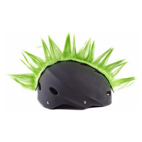 Crazy Ears IROKESENKAMM grün - Frisur für den Helm