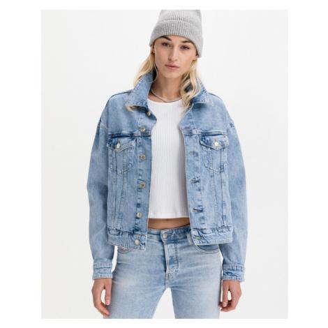 GAS Warming Boxy Jacket Blau