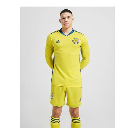 Adidas Schottland 2020 Home Torwart Shorts Herren - Yellow/Blue - Herren, Yellow/Blue