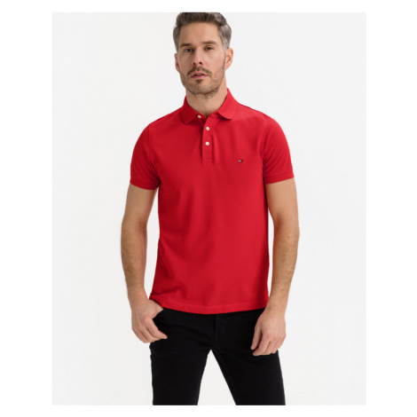 Tommy Hilfiger 1985 Polo T-Shirt Rot