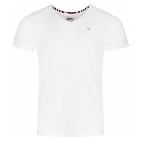 Tommy Hilfiger Herren T-Shirt Slim Jaspe V Neck