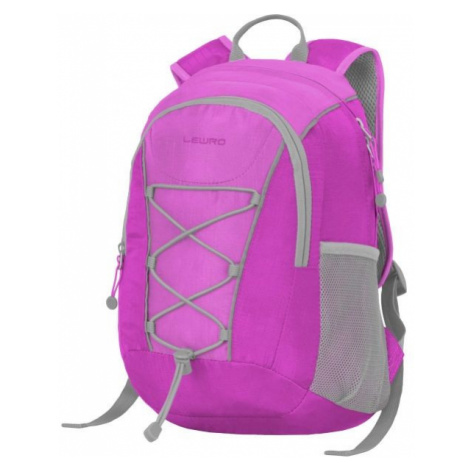 Lewro DINO 12 violett - Universeller Kinderrucksack