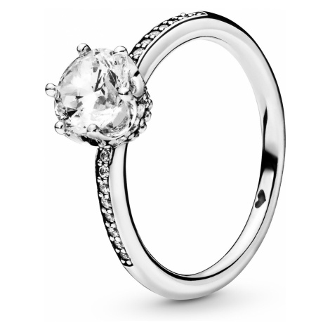 Pandora 198289CZ Damen-Ring Clear Sparkling Crown