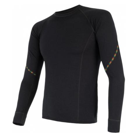 Herren T-Shirt Sensor MERINO AIR black 17200005