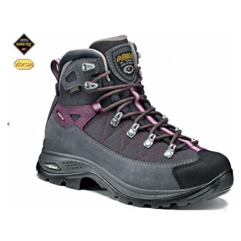 Schuhe ASOLO Finder GV Grau / Rotguss / Traube A742, Ladies