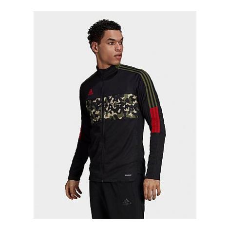 Adidas Tiro Graphic Trainingsjacke - Black / Multicolor - Herren, Black / Multicolor
