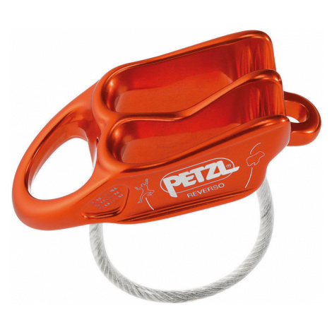 Sichern Bremse PETZL Reverso rot-orange D017AA02