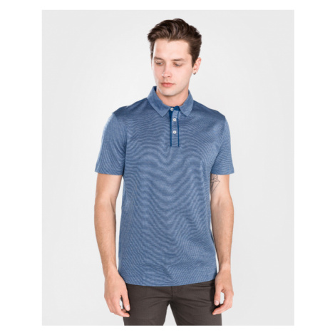 BOSS Press 37 Polo T-Shirt Blau Hugo Boss